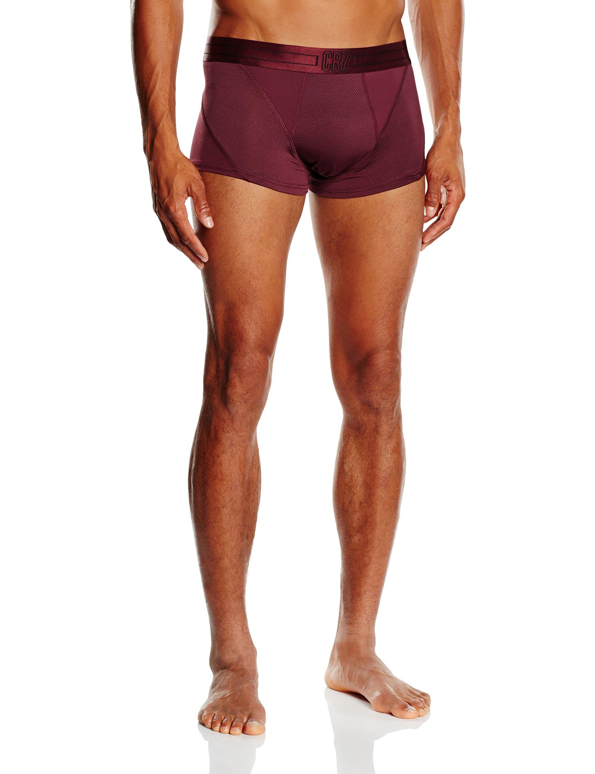 CR7 CRISTIANO RONALDO, Boxer aderenti Uomo Fashion Fashion, Viola (Violett), XL