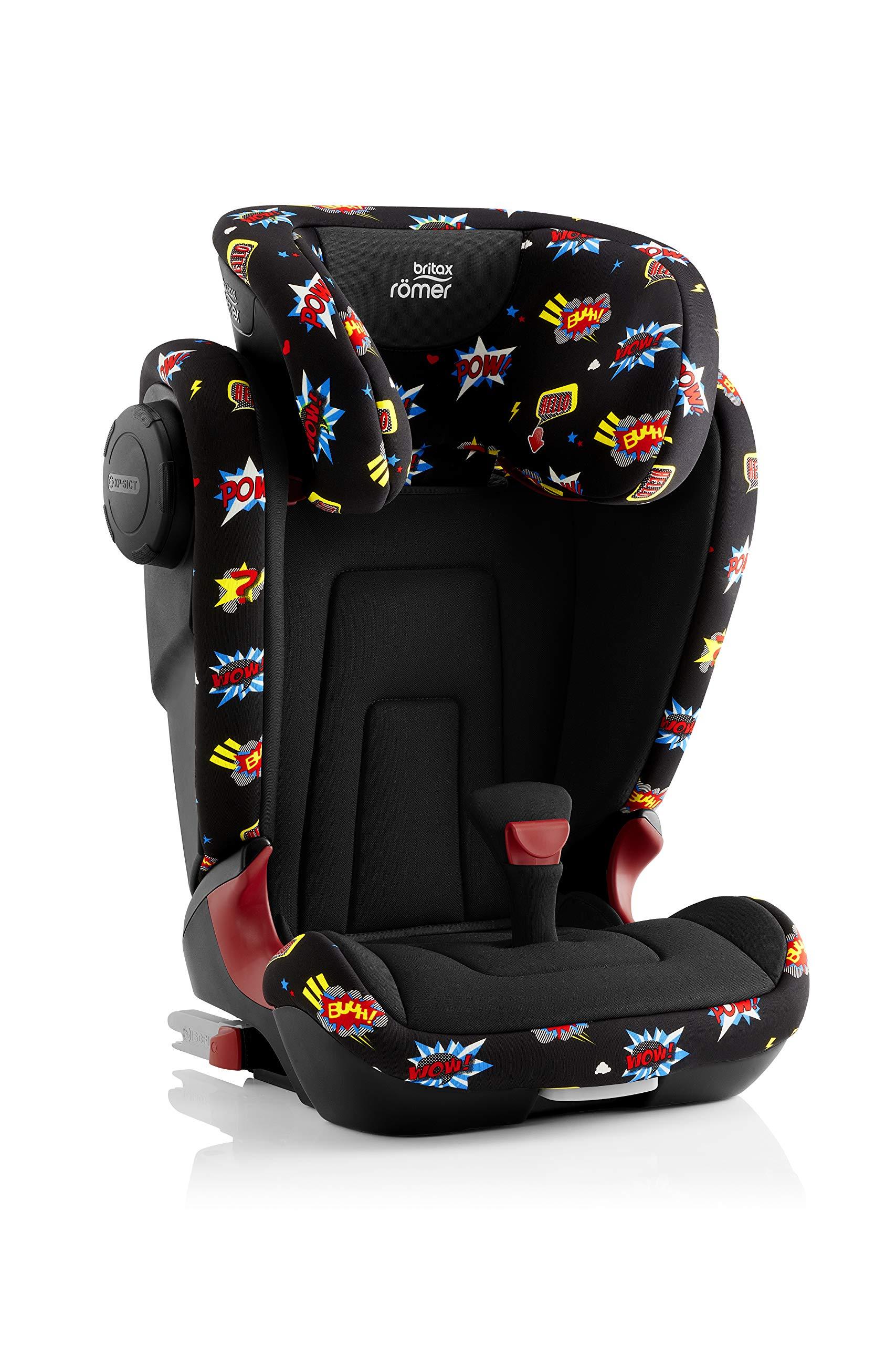Britax Römer KIDFIX² S Group 2-3 (15-36kg) Car Seat - Comic Fun  Britax Excelsior Ltd (First Order Account)