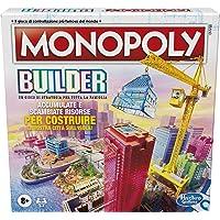 Hasbro Monopoly - Builder, gioco da tavolo Monopoly per bambini dagli 8 anni in su, Multicolore