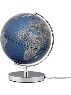 geografisch Tischglobus emform Globus 30cm beleuchtet Stellar Light physical