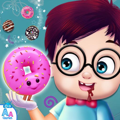 Sweet Donut Maker Salon & Decoration - Kids Cooking Games FREE