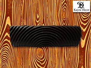 Kayra Decor Wood Grain Tool for Wall Decor (Multicolour, WOODGRAINBIGFD10-1)