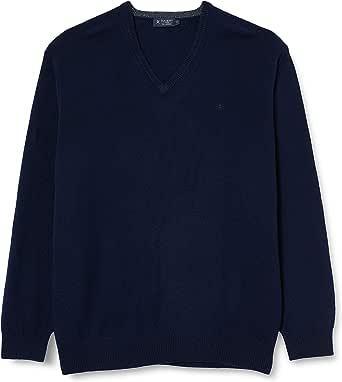 Hackett London Men's Cotton Wool Crew Neck Sweater