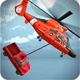 Helikopter-Rettungs-Simulator Chopper-Spiele 3D - Spaß und anspruchsvolle Flugzeug und Hubschrauber fliegen Spiel für Kinder 2018