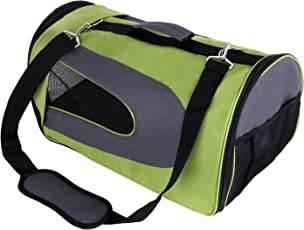 Amzdeal Hundetragetasche Katzentragetasche, Hund oder Katze Tragetasche Flugtasche Transporttasche Reisetasche