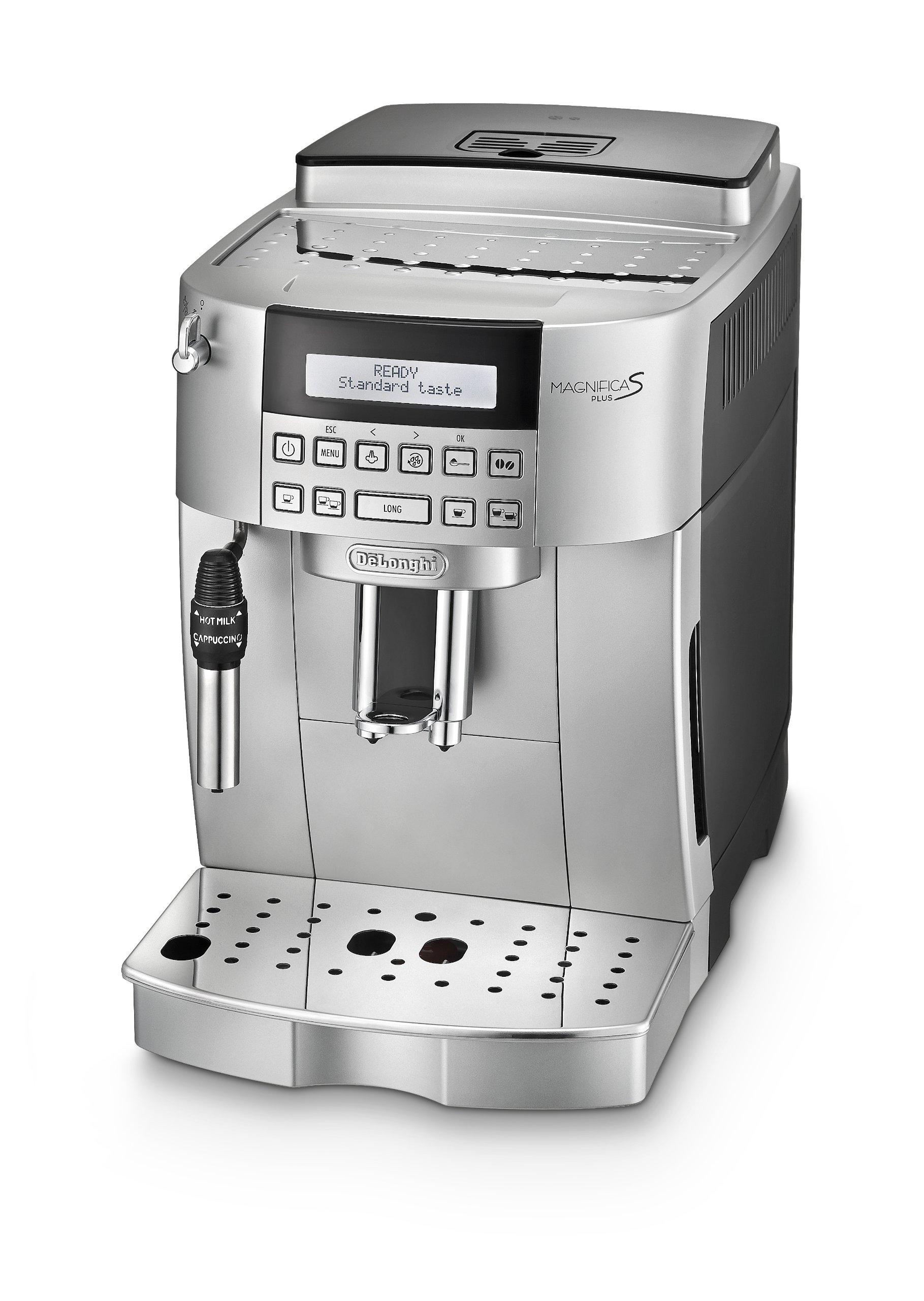 De-Longhi-ecam22320b-magnifica-s-Maschine-fr-Kaffee-superautomatica-silber