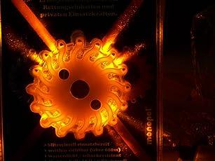 Notfall lampe Pannenlampe Pannenleuchte Orange