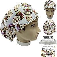 Cappello sala operatoria donna PITTORE MESSICANO per Capelli Lunghi Asciugamano assorbente sulla fronte facilmente…