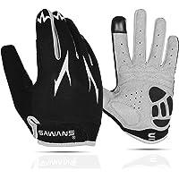 Cycling Gloves Full Finger Mountain Bike Gloves Padded Breathable Touchscreen MTB Road Biking Gloves for Men Women…