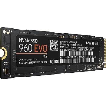 Samsung SSD Interne 960 EVO (500 Go) - MZ-V6E500BW