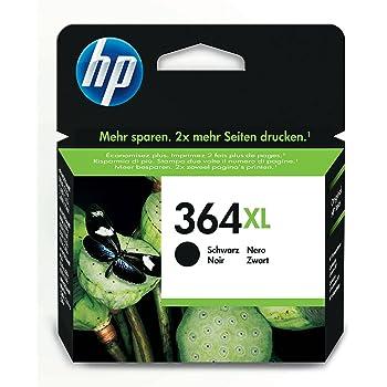 HP 364XL Cartuccia Originale Getto d'Inchiostro ad Alta Capacità, Nero