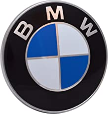 BMW-Emblem für Motorhaube, Kofferraum mit 2 Stiften, 82mm 1357Serie M3M5X5E30E36E46