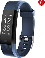 Arbily Fitness Tracker, YG3PLUS monitor della frequenza cardiaca Braccialetto Sportive Cardio IP67 Impermeabile fitness Band Smartwatch Inseguitore di idoneità per Android iOS(14 Modalità Sporti
