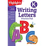 Kindergarten Writing Letters (Highlights™ Learn on the Go Practice Pads)