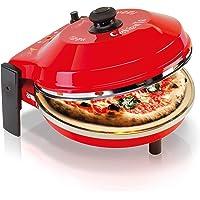Spice - Four à pizza Caliente avec pierre réfractaire 400 degrés résistance circulaire pure pierre réfractaire 32 CM
