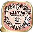 Lily's Kitchen Paté Suave para Gatito, Pollo + Ternera (19 x 85 g)