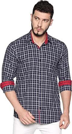 LEVIZO Men's Regular Fit Shirt