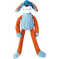 Goofy Tails Long Leg Doggie Squeaky Dog Toys |Rope with Crinkle Plush Toy for Dogs Ideal for Light Chewer and Small…
