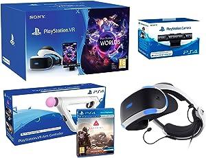 "PlayStation VR2 (CUH-VR2) ""Farpoint Pack"" + VR Worlds + Kamera V2 + Farpoint inkl. Aim Controller"