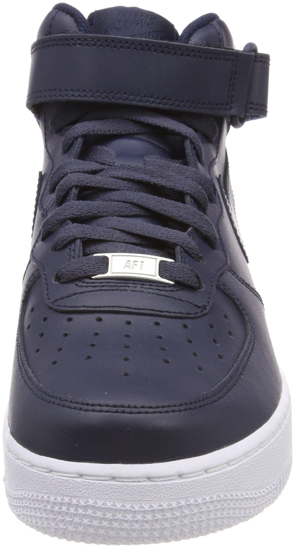 air force 1 basket uomo nere