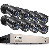ZOSI 8CH H.265+ 1080P HDMI DVR Recorder met 8 Outdoor 2.0MP 1080P CCTV Beveiligingscamera Camera Systeem zonder Harde Schijf