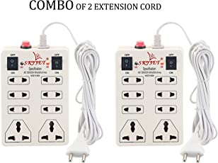 Combo SKYJET 8 Plug 2 SWITCHES Extension Strip