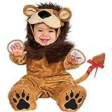 Rubies - Disfraz de león para niños, talla bebé 1-2 años (Rubies S8248-T)