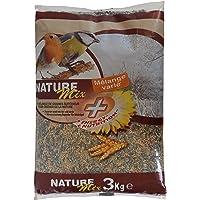 Aime Nourriture pour Oiseaux, Mélange de Graines Varié et Nourrissant, Sac de 3 KG, Pour Oiseaux du Ciel et Animaux…