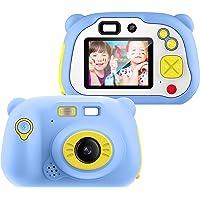 Appareil Photo pour Enfant, avec Carte TF 16 Go, Caméra Selfie Rechargeable Numérique pour Enfants, Ecran à 2 Pouces…