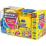 Zuru 56174 - Palloncini Bunch O per feste, 40 palloncini in 40 secondi, con pompa elettrica, 16 palloncini, tubo e 4 adattato
