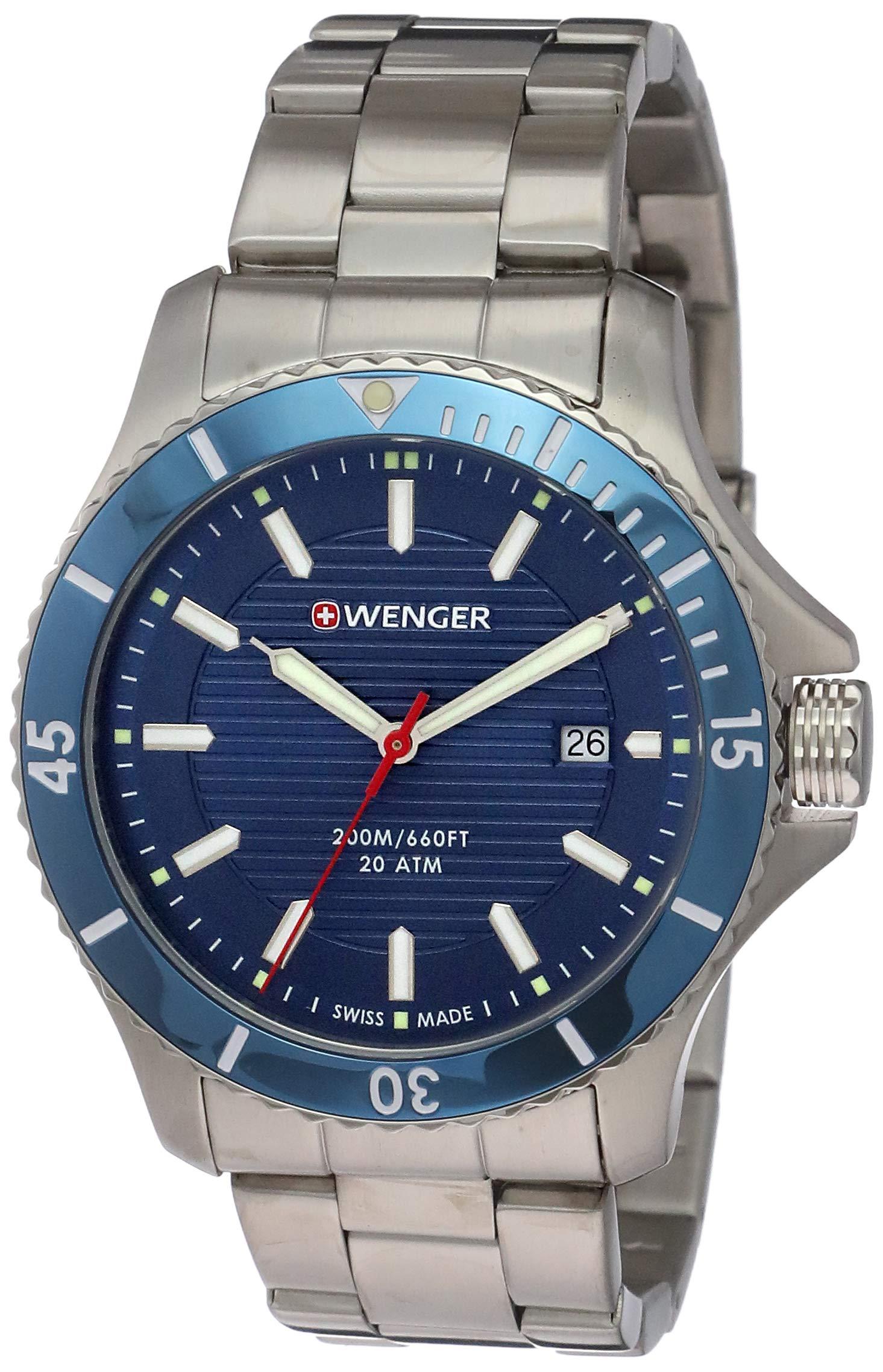 Wegner Unisex Analogue Quartz Watch with Stainless Steel Strap 01.0641.120