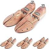 Schlesinger – 4 paires embauchoir de marque en bois de cèdre précieux pour hommes pour un entretien optimal des chaussures. M