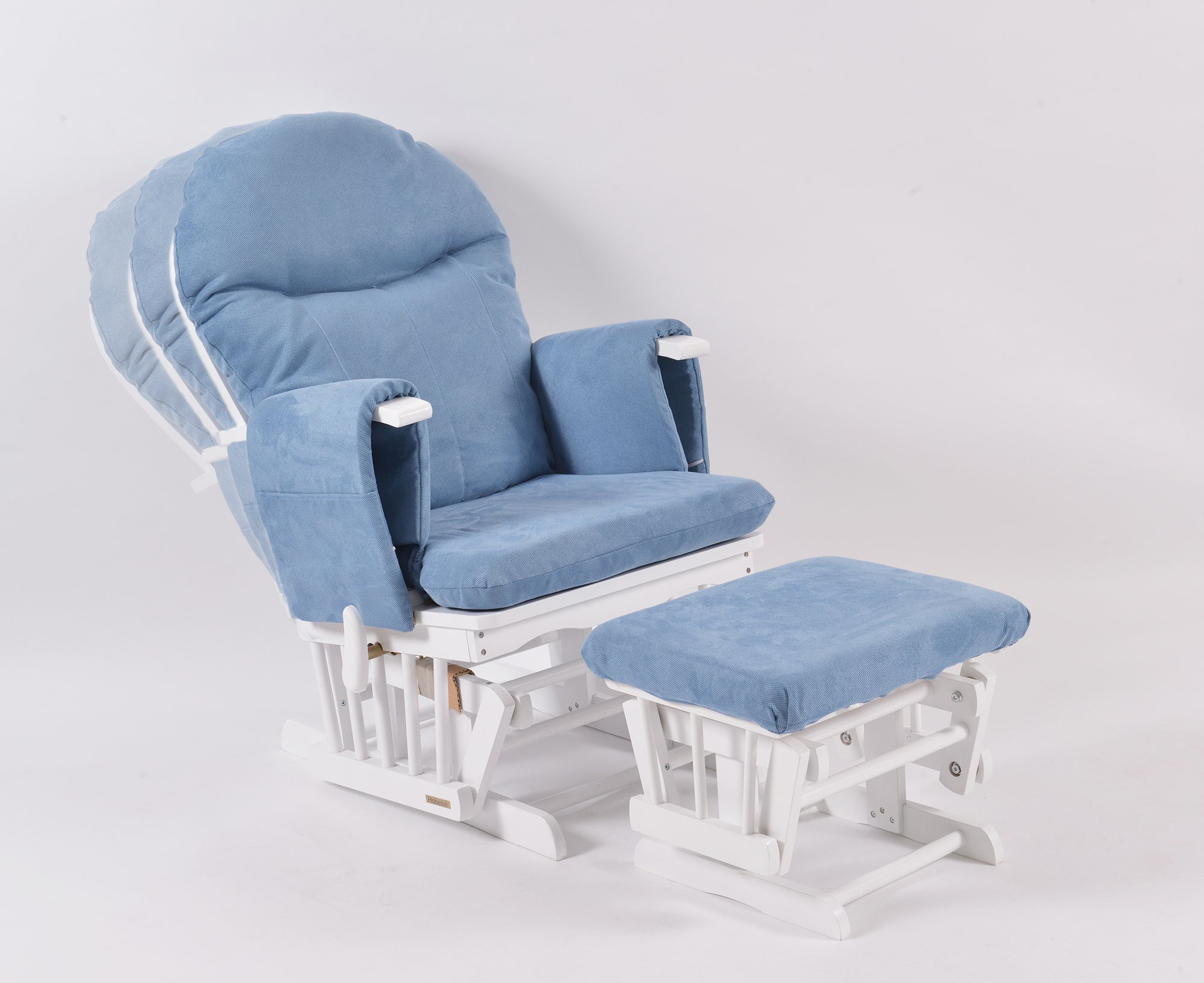 Sensational Habebe Glider Rocking Nursing Recliner Maternity Chair With Footstool Washable Covers Pabps2019 Chair Design Images Pabps2019Com