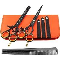 Haarscheren Set Profi 5,5 Zoll Haarschneideschere Friseurscheren Effilierschere