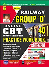 Railway Group D Online CBT Practice Work Book with Solved Papers