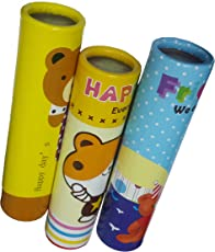 ShopMeFast Kaleidoscope Educational Fun Toy- Pack of 3 Pcs. (Color Pattern May Vary)