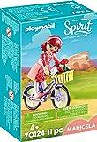 Playmobil Spirit-Riding Free Maricela et Bicyclette, 70124