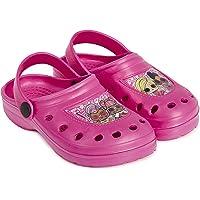 L.O.L. Surprise ! Beach Shoes, Girls Soft Flip Flops, Crocs Sandals, Kids Water Shoes, Girls Sandals Original with LOL…