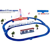Sunshine Express Bullet Train Toy with Big Track and Bridge