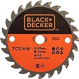 BLACK + DECKER mini cirkelzaagblad TCT 85x10mm 24 tanden A7525-XJ