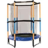 Hudora Hornet kindertrampoline Jump In - trampoline met veiligheidsnet - 140 cm