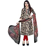 Giftsnfriends Women's Crepe/Synthetic Patiala Dress Material