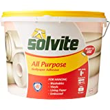 Solvite 1584646 wallpaper paste, 9 kg, for 10 rolls