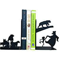 HeavenlyKraft Decorative Metal Bookend Childrens Room Decor Non Skid Book End Book Stopper for Home/Office Decor/Shelves…