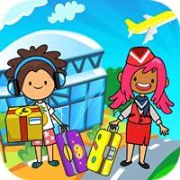 My Pretend Airport - Kids Travel Town & Preschool Games