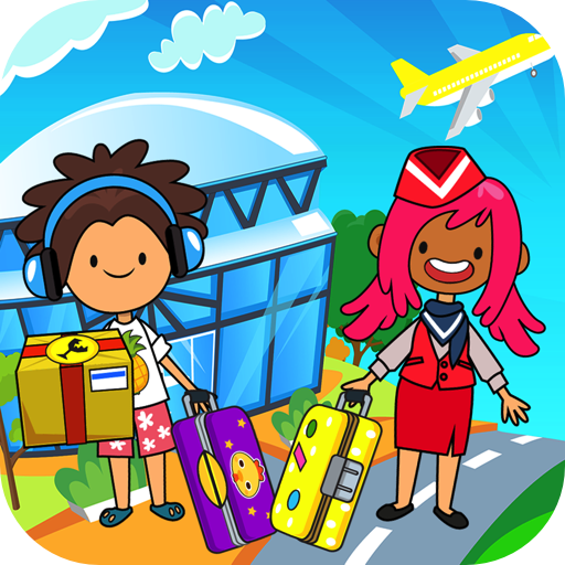 Airport Travel (My Pretend Airport - Kids Travel Town & Preschool Games)