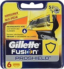Gillette Fusion ProShield Rasierklingen für Männer, 6Stück