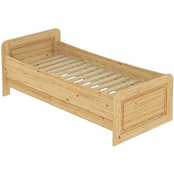 Erst Holz Seniorenbett Extra Hoch 100x200 Einzelbett Holzbett