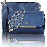 Glowic P.U. Leather Siling Bag leather handbags Set for girls stylish latest Ideal for Women's & Girls