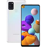 Samsung Galaxy A21s Android Smartphone, SIM Free Mobile Phone, White